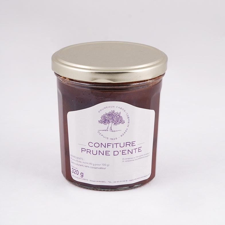 confiture de prunes d'ente de la maison cabos
