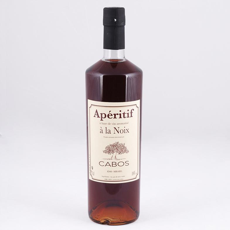 bouteille apéritif de noix artisanal
