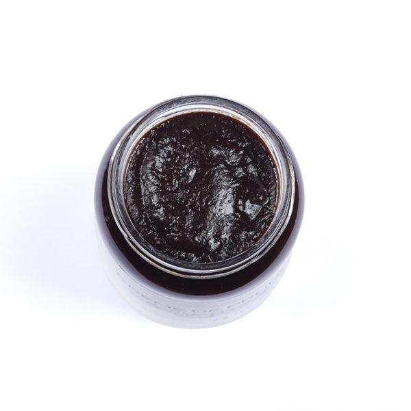 texture de la crème de pruneaux de la maison cabos