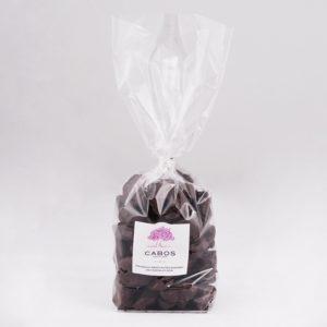 Pruneaux dénoyautés enrobés de chocolat noir